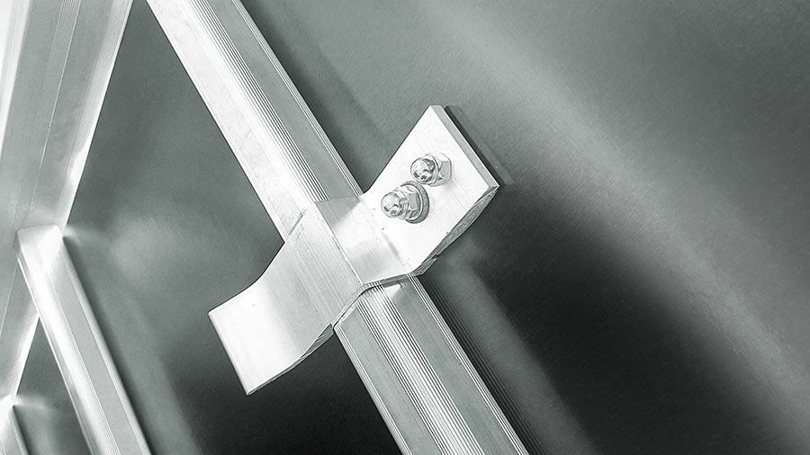 Фото - Лестница трансформер алюминиевая Эйфель Простор (4х5 Простор)
