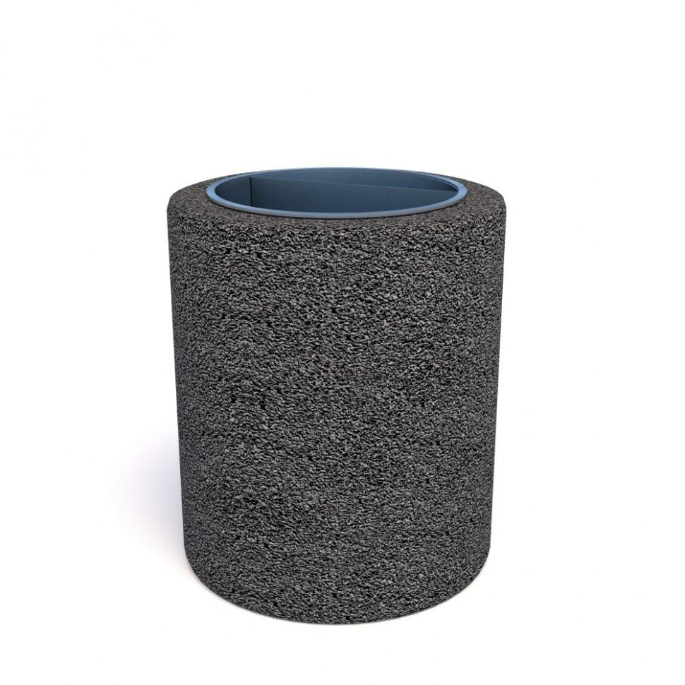 Фото - Урна бетонная Кельн мини (Габбро диабаз)