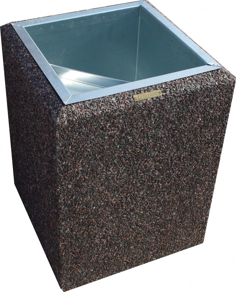 Фото - Урна бетонная Киль макси (Питерский гравий)