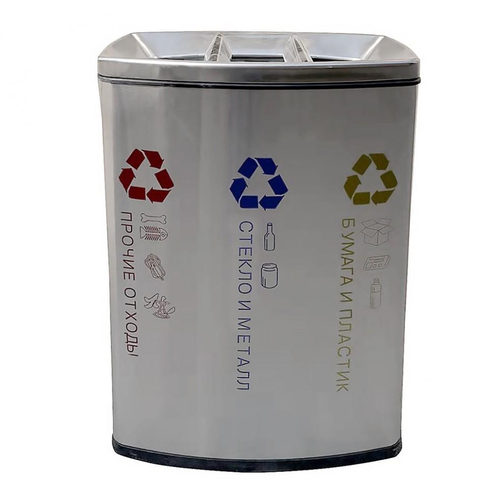 Фото - Урна для раздельного сбора мусора САНАКС-3