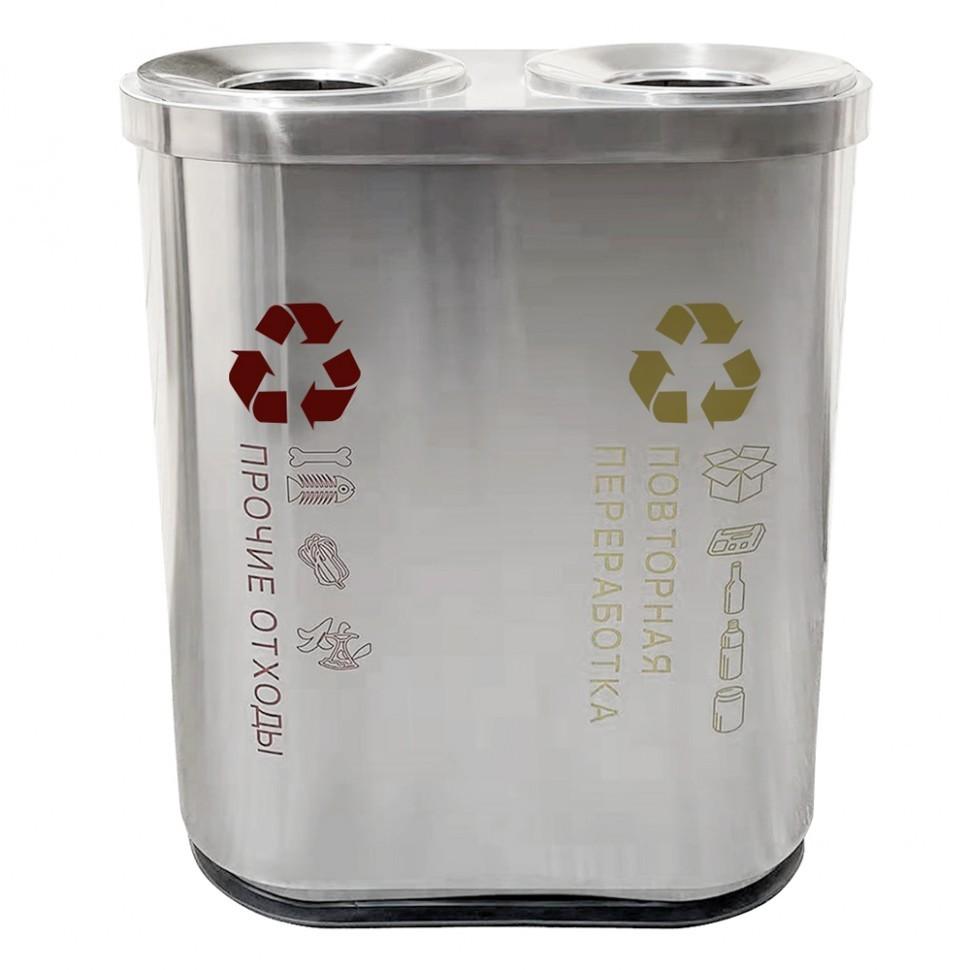 Фото - Урна для раздельного сбора мусора САНАКС-2 модель 2