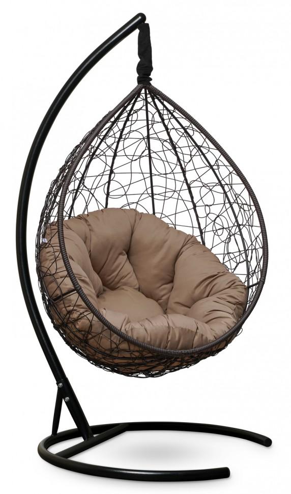 Фото - Подвесное кресло SEVILLA VERDE коричневое + каркас