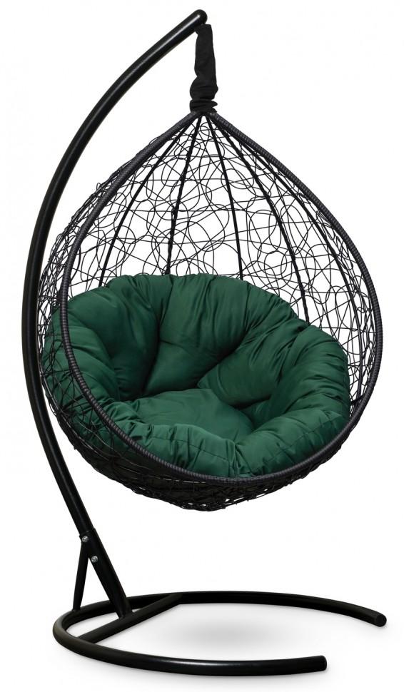 Фото - Подвесное кресло SEVILLA VERDE черное + каркас