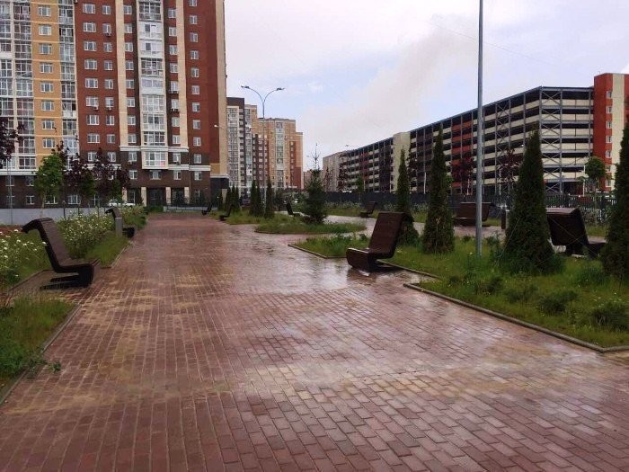 Фото - Уличная скамейка ПИФАГОР (1,2м)