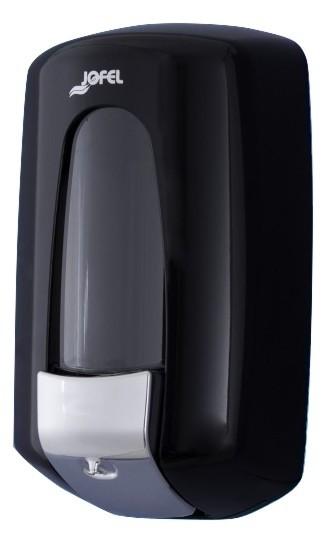Дозатор жидкого мыла Jofel АС70600 (Черный пластик), фото