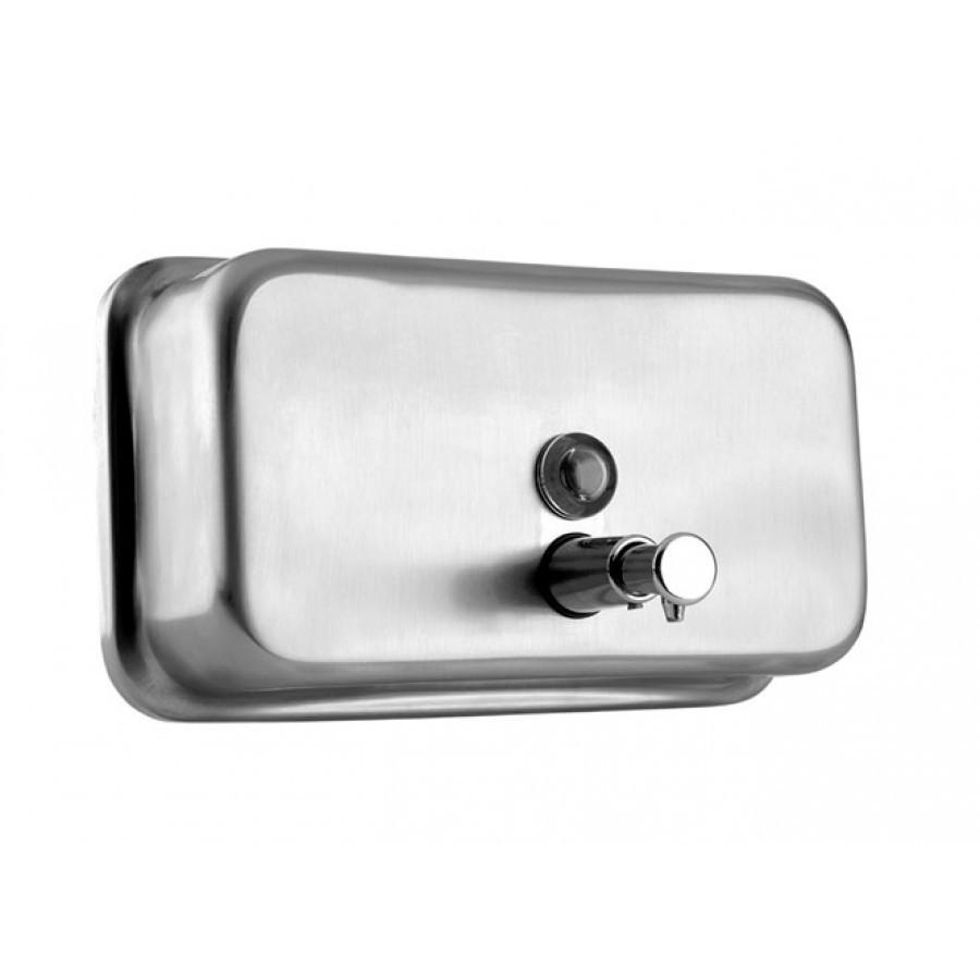 Дозатор для жидкого мыла Jofel ALL1003/ALL1003B (матовая нержавеющая сталь), фото