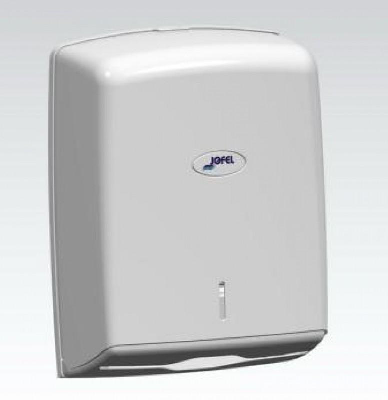 Диспенсер для бумажных полотенец Jofel AH37000/AН37600 (Белый пластик), фото