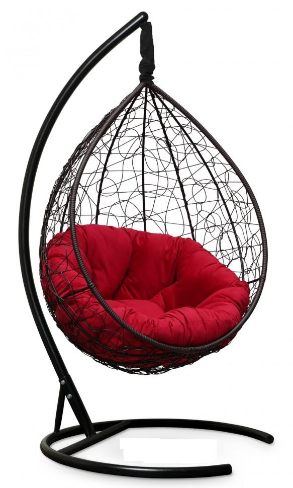 Фото - Подвесное кресло SEVILLA VERDE VELOUR коричневое + каркас