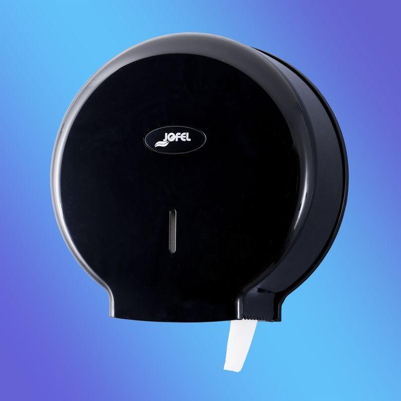 Диспенсер для туалетной бумаги Jofel АЕ57600/AE58300 (Черный пластик), фото