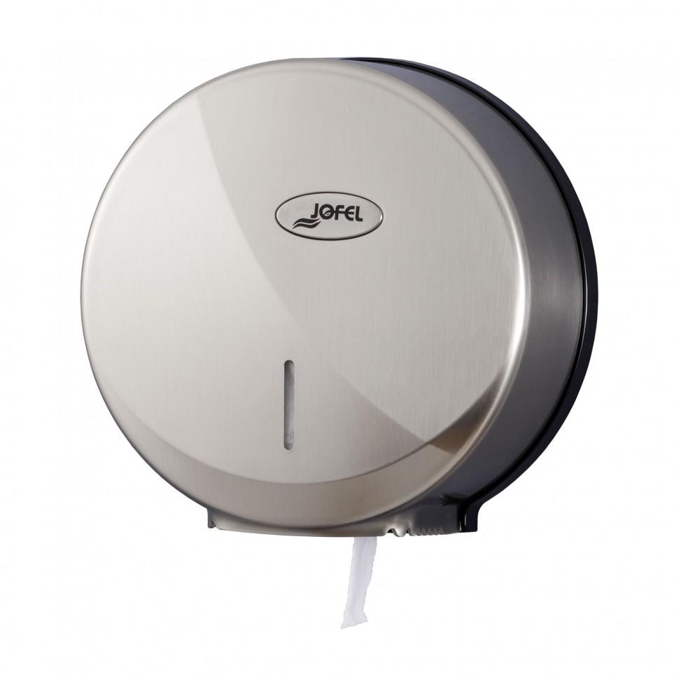 Диспенсер для туалетной бумаги Jofel АЕ57600/AE58300 (Пластик под нерж. сталь), фото