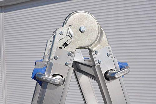Фото - Телескопическая шарнирная лестница QH-4х6 Telescopic