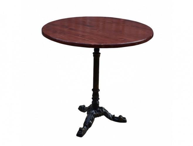 Фото - Чугунный круглый стол КАФЕ