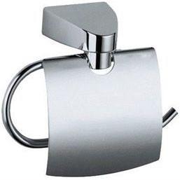 Держатель для туалетной бумаги металл хром, фото