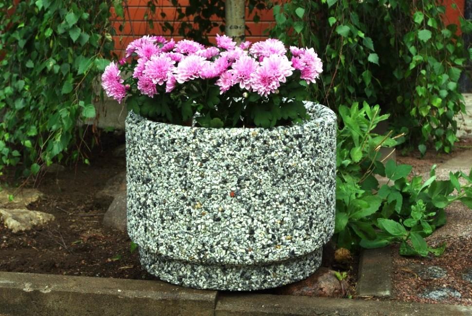 Вазоны для цветов бетонные